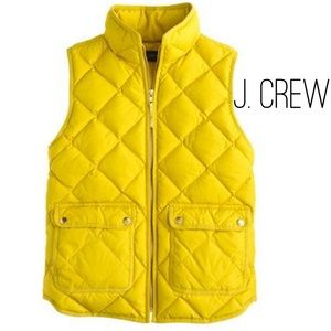 Quilted Puffer Vest  by J. Crew - Sz. L